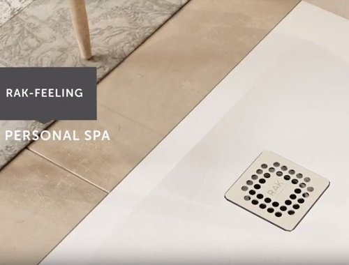 RAK-Feeling shower trays