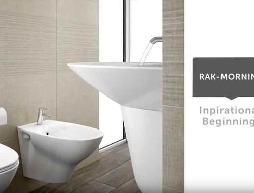 RAK-Morning bathware suites from RAK Ceramics