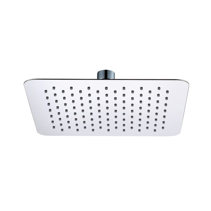 250mm square ultra slim shower head