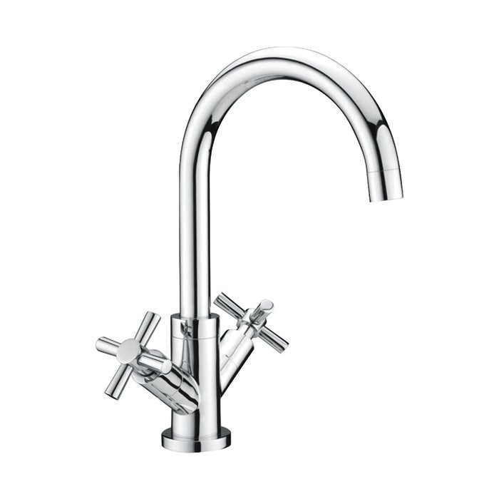 Kitchen sink mixer tap cross head