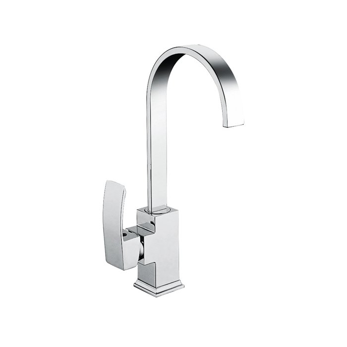Kitchen sink mixer tap modern side lever