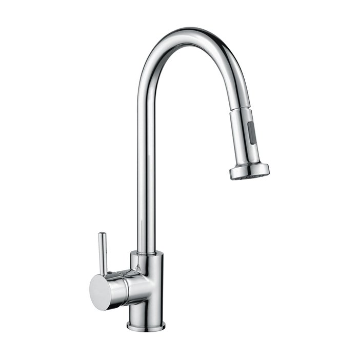 Pull out Kitchen sink mixer side lever (RAKKIT013)