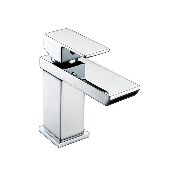 Basin Art Block Mono basin mixer