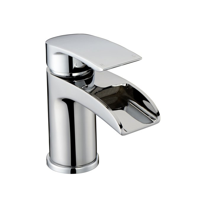 Basin Art Waterfall Mono basin mixer Curve