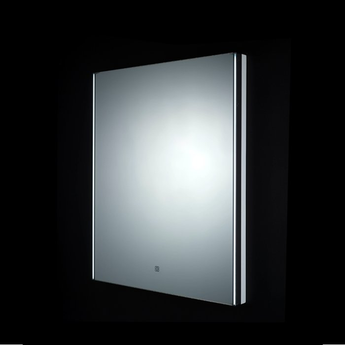 Resort LED Mirror with Demister Pad and Shaver Socket (H)550x(W)700mm