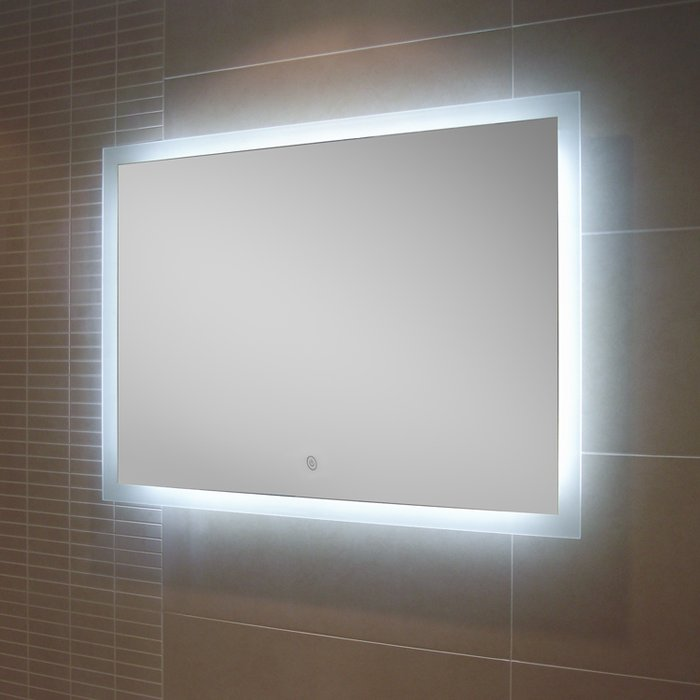 Manhattan LED Mirror with Demister Pad (H)600x(W)800mm