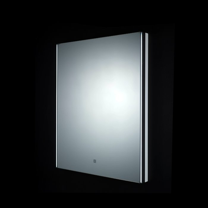 Resort LED Mirror with Demister Pad and Shaver Socket (H)450x(W)600mm