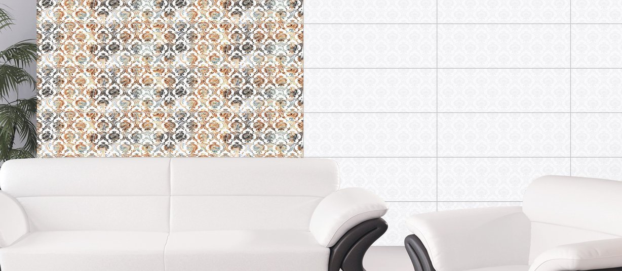 arabia Mix tiles Modern style Living
