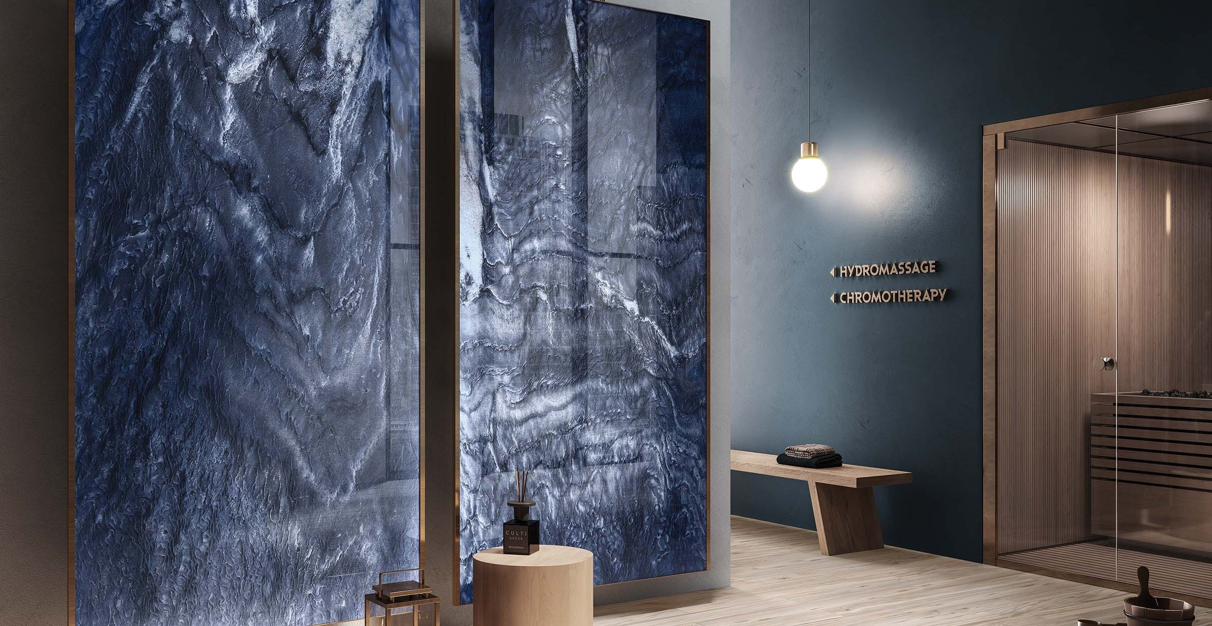 bahia Blue tiles Modern style Light Commercial