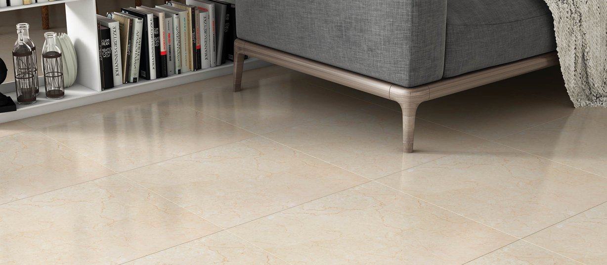 caliza Beige tiles Modern style Living