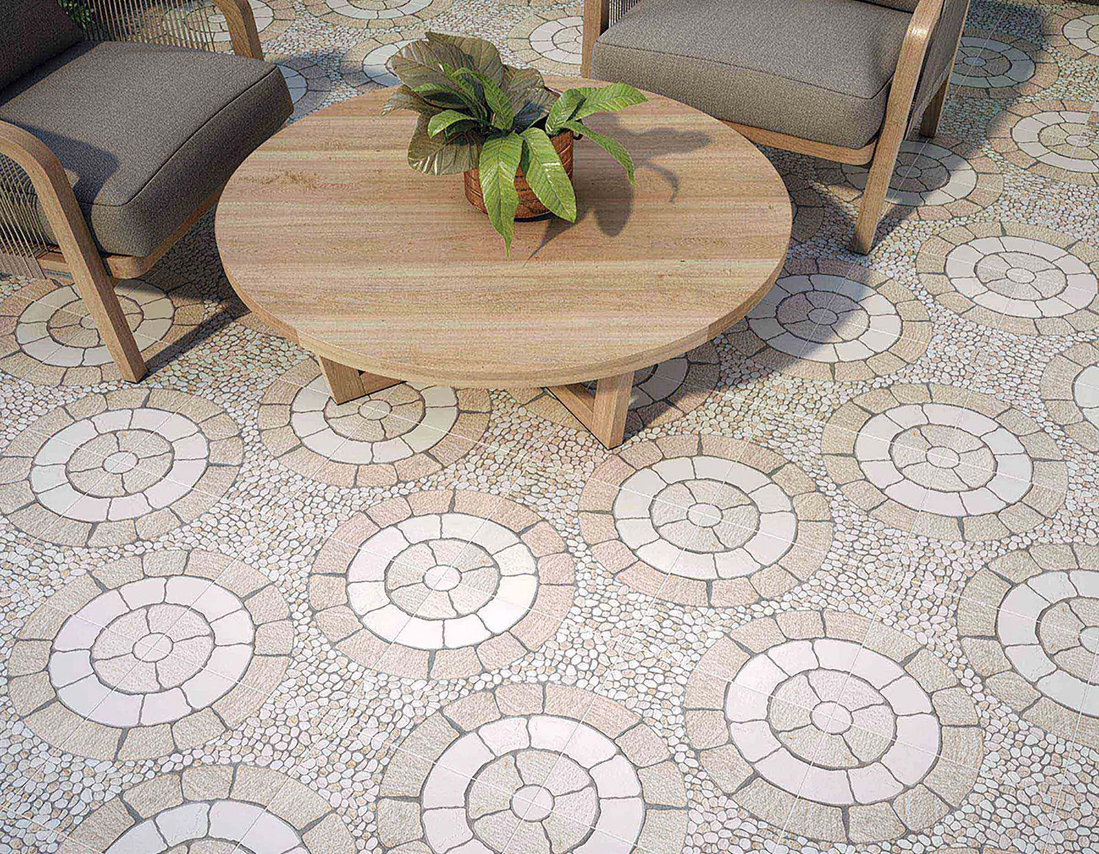 ceramic floor collection White tiles Modern style Outdoor