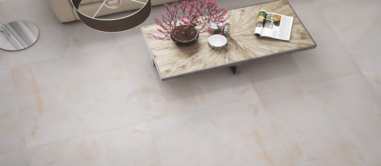 ceramic floor collection Marron carreaux Campagnard style Vivant