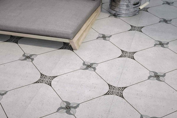 ceramic floor collection Grey tiles Country style Outdoor