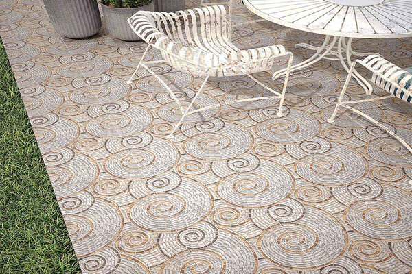 ceramic floor collection Grey tiles Modern style Outdoor
