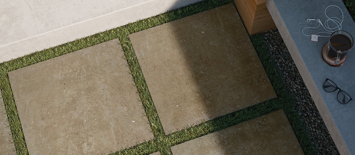 core stone Marrone piastrelle Moderno stile Outdoor