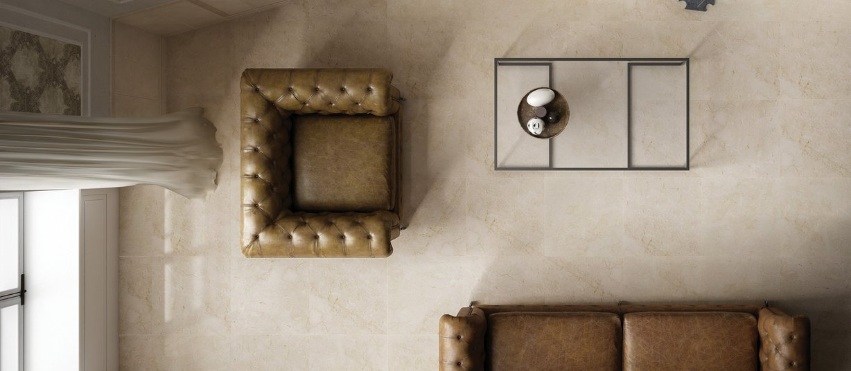 Dream marble Beige tiles Modern style Living