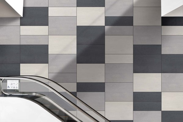 lounge Grey and White tiles Modern style Heavy Commercial