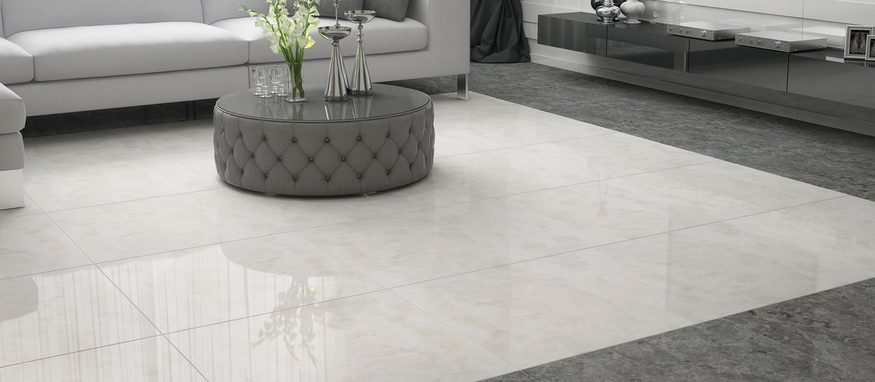 marble collection لون رمادي tiles عصري style المعيشة