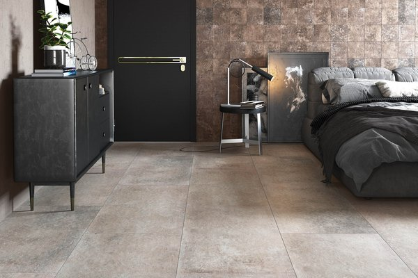 maremma Beige and Brown tiles Modern style Living