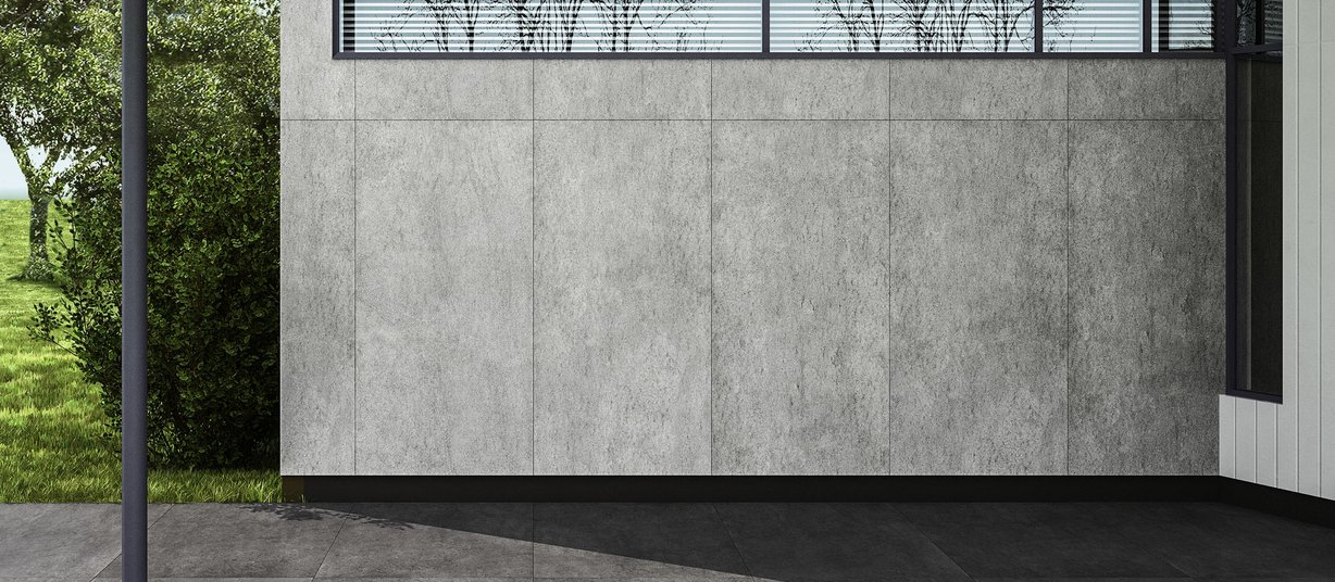 maximus basaltina stone Anthracite, Black and Grey tiles Modern style Outdoor