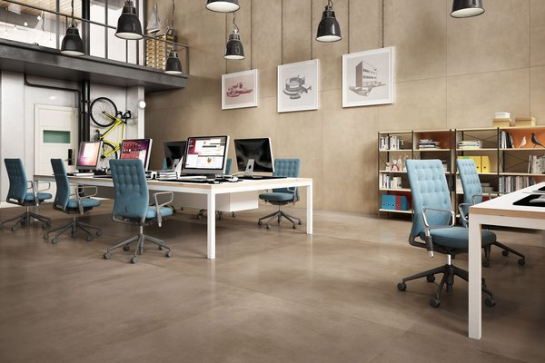Maximus surface xl Marrone piastrelle Moderno stile Commerciale leggero