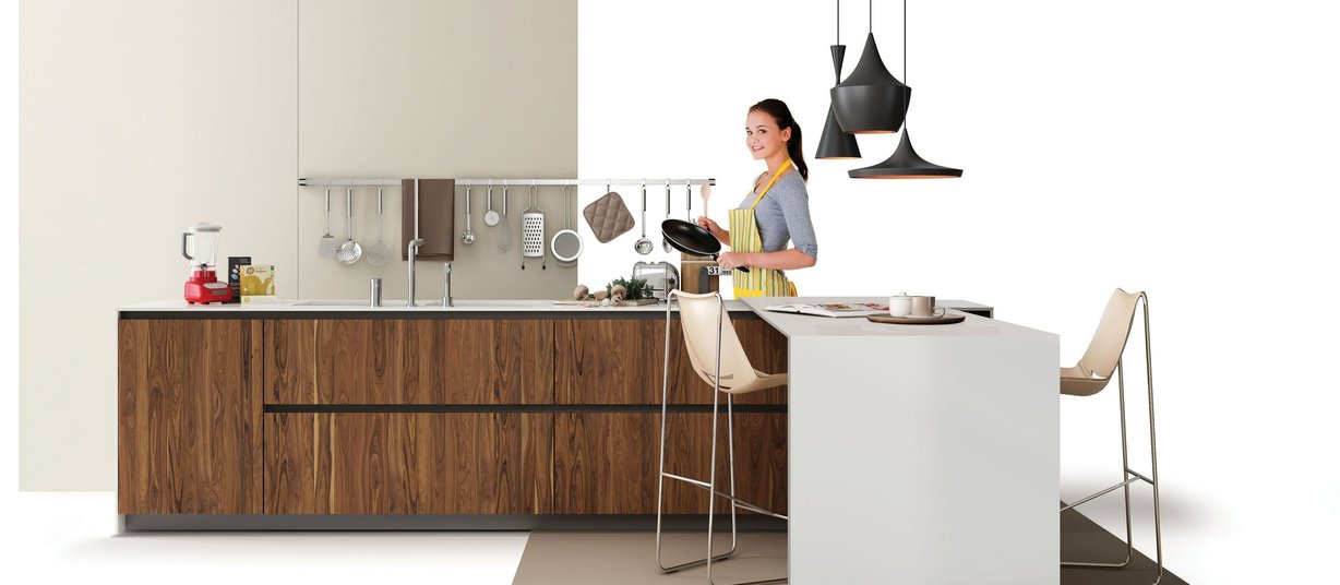 maximus uni Ivory tiles Modern style Kitchen
