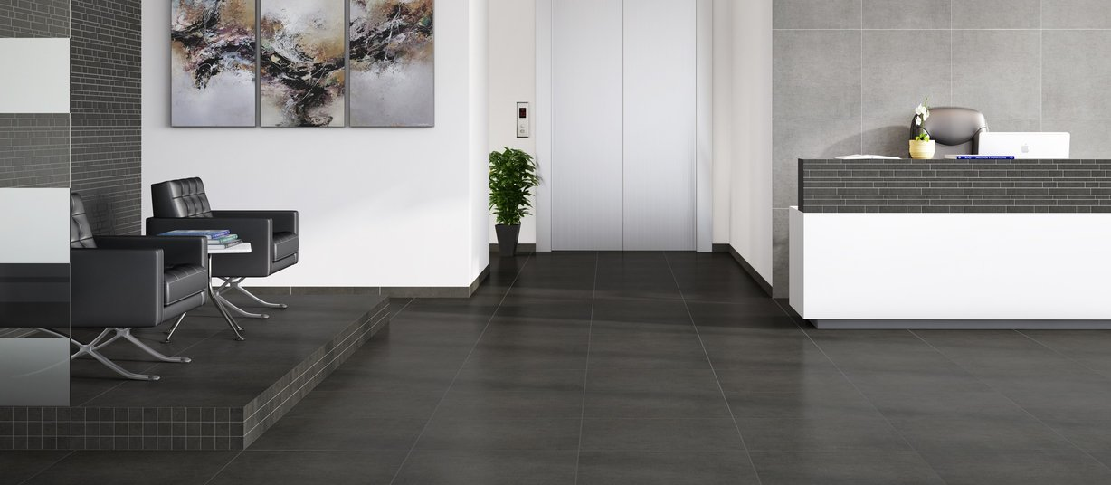 sparko Black and Grey tiles Modern style Living