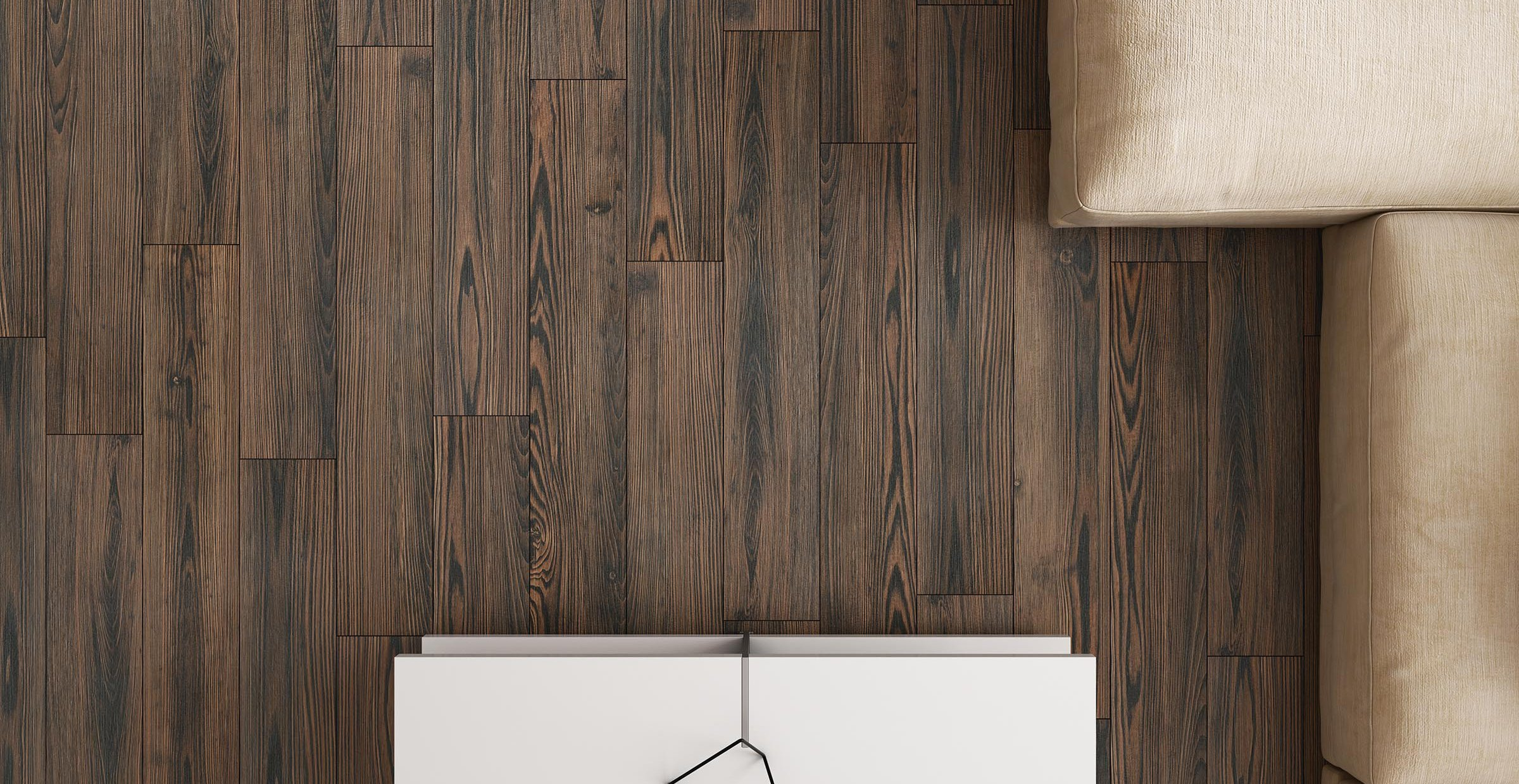 Sugi ban Brown tiles Modern style Living
