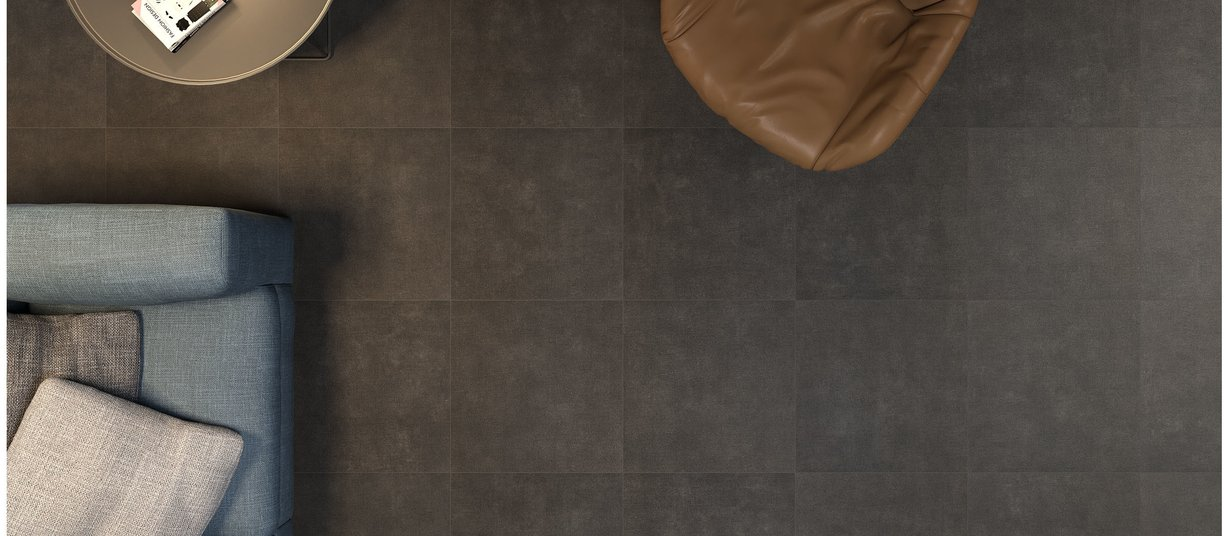 textile concrete Black and Grey tiles Modern style Living