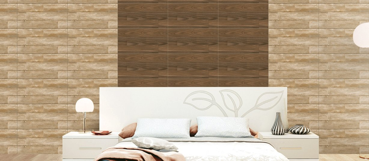 zeno Beige and Brown tiles Modern style Living